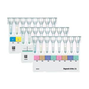 DG Gel Blood typing card range