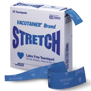 Vacutainer® Stretch Latex-Free Tourniquet