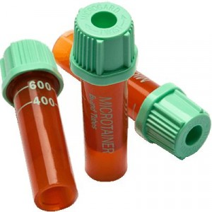 Microtainer® Blood Collection Tube Light Green